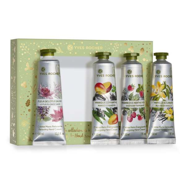 4 Hand Creams Box Set - Yves Rocher
