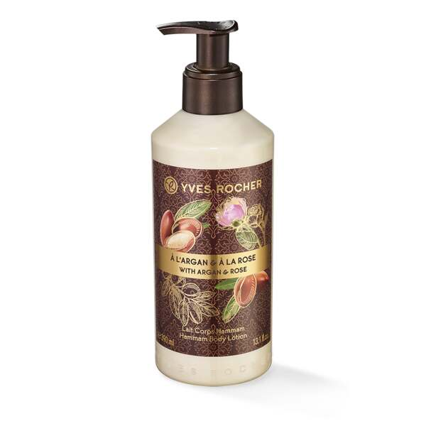 Argan Rose Hammam Body Lotion