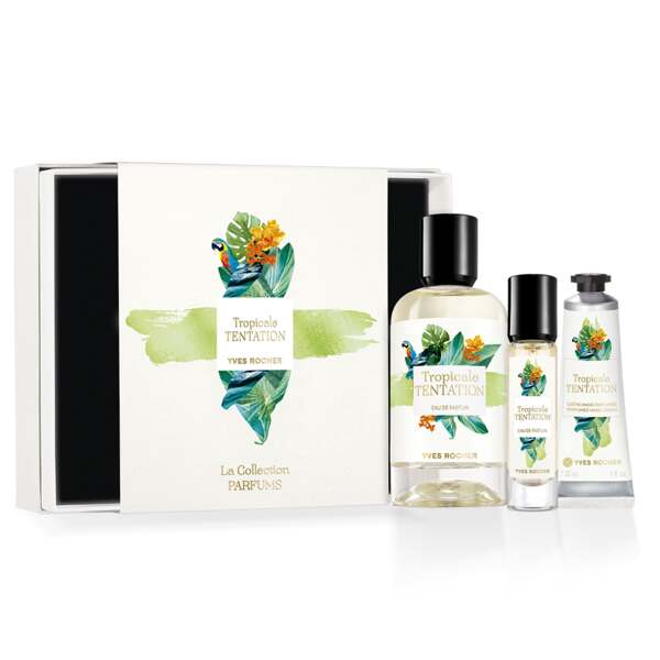 Tropicale Tentation Fragrance Gift Set, The Collection, Women Eau de Parfum, Gift ideas
