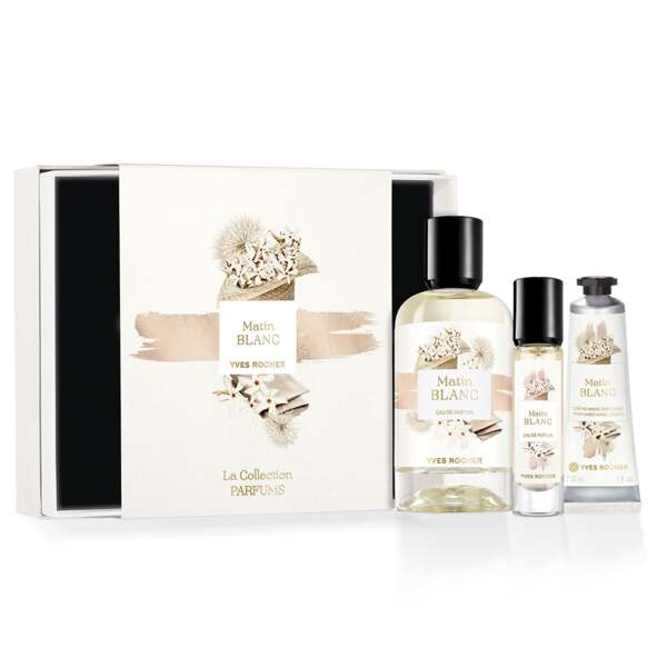 Matin Blanc Fragrance Gift Set, The Collection, Women Eau de Parfum, Gift ideas