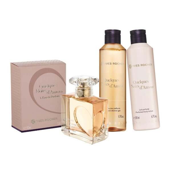 Quelques Notes D'amour Perfume Set