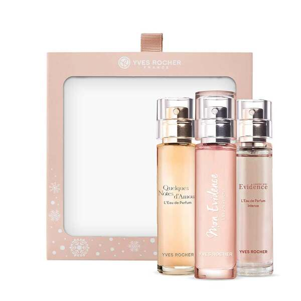Fragrance Purse Spray Trio,Women Eau de Parfum,Gift ideas