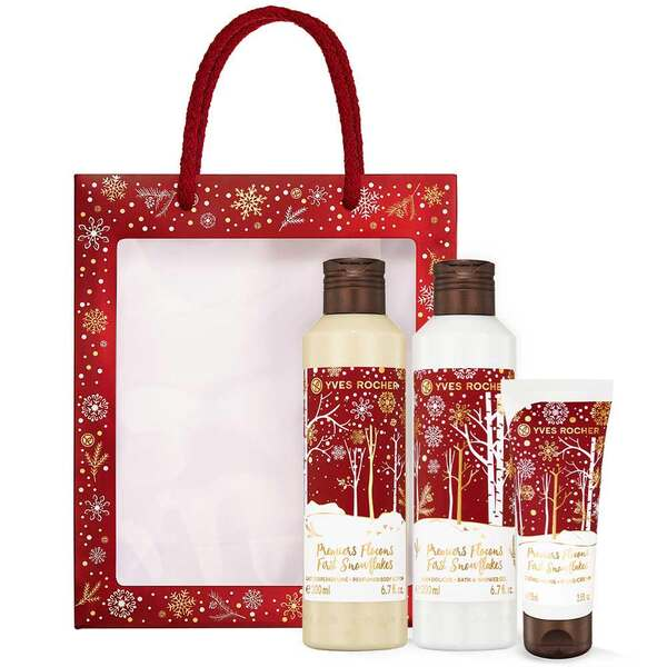 First Snowflakes Essentials Trio Gift Set, Holiday Collection, Gift ideas