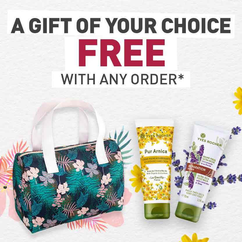 A FREE gift of your choice with any order*