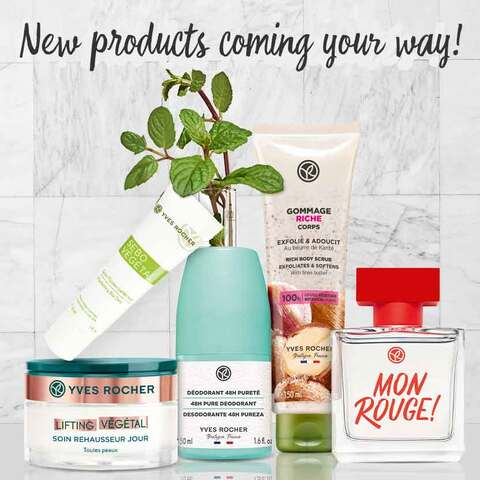 Discover all the Yves Rocher new products